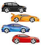 Car icons. Stock Images