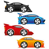 Car icons. Royalty Free Stock Photos
