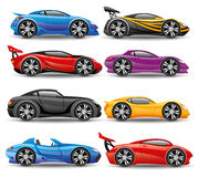 Car icons. vector illustration