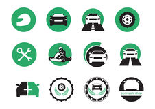 Car icons vector royalty free illustration