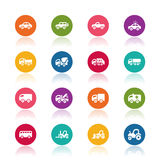Car icons royalty free illustration