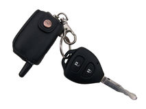 The car ignition key Royalty Free Stock Photography