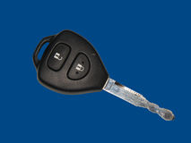 The car ignition key Stock Image