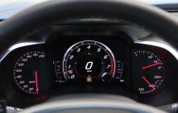 car illuminated dashboard royalty free stock photography