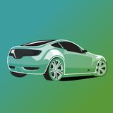 Car illustration Royalty Free Stock Photo
