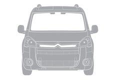 Car illustration Royalty Free Stock Photography