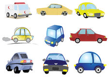 Car Illustration in Vector Stock Image