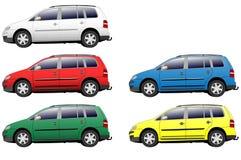 Car illustrations Stock Photography