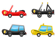 Car illustrations vector Stock Photo