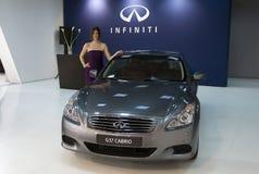 Car Infiniti G37 Cabrio Royalty Free Stock Photos