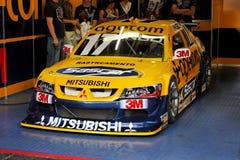 car ingo racing stock yellow Στοκ φωτογραφίες με δικαίωμα ελεύθερης χρήσης