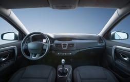 Car inside composition. Concept and idea stock photos
