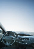 Car inside composition. Concept and idea royalty free stock images