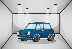 A car inside the garage Royalty Free Stock Images