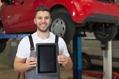 Car inspection approved Royalty Free Stock Photos