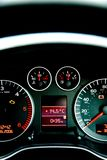 Car Instrument panel royalty free stock images
