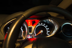 Car instrument panel Stock Images