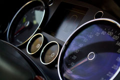 Car instrumental panel abstract Stock Photos