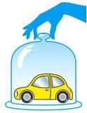 Car Insurance. Vector illustration on white background Stock Illustration