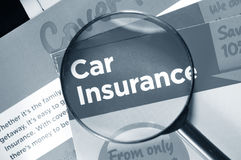 Car Insurance Royalty Free Stock Photos