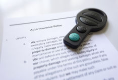 Car insurance Stock Images