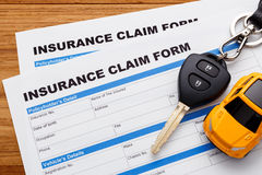 Car insurance claim concept Royalty Free Stock Photography