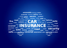 Car insurance collage Stock Images