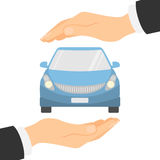 Car insurance concept. Royalty Free Stock Image