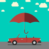 Car insurance concept Royalty Free Stock Photo