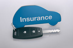 Car insurance concept Stock Images