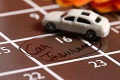 Car insurance. Concept shot of car insurance stock image