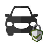 Car insurance design Royalty Free Stock Photo