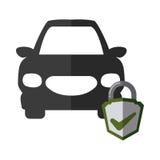 Car insurance design Royalty Free Stock Photo