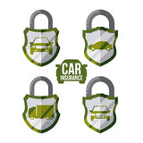 Car insurance design Royalty Free Stock Photos