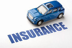 Car insurance Royalty Free Stock Images