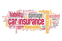 Car insurance industry Royalty Free Stock Photo