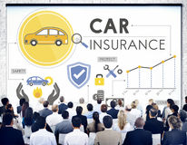 Car Insurance Policies Safety Coverage Concept Royalty Free Stock Images