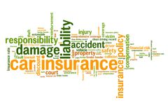 Car insurance policy Royalty Free Stock Photography