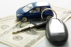 Car insurance for vehicle. Transport service Royalty Free Stock Photos