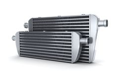 Car intercooler Royalty Free Stock Photography