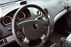 Car interior. A shot inside a city car Royalty Free Stock Photos