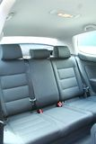 Car Interior. Rear seats of a car interior Royalty Free Stock Photography