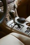 Car interior. The beautiful interior of New Car stock image