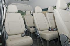 Car interior. The beautiful interior of New Car stock images
