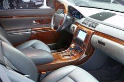 Car interior. Photo of interior of dear car Stock Photos