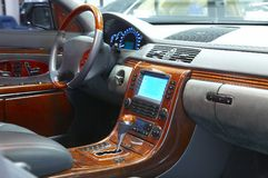 Car interior royalty free stock photography
