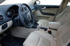 Car interior. European car interior Royalty Free Stock Photos
