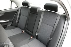 Car Interior. With back seats Royalty Free Stock Image