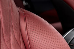 Car interior background. Royalty Free Stock Photo