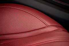 Car interior background. Royalty Free Stock Photography